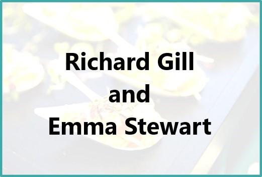 Richard Gill and Emma Stewart