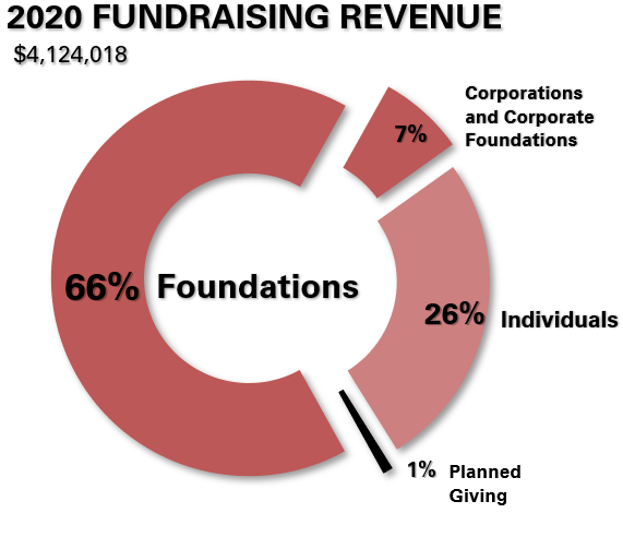 2020 Financials- Fundraising Revenue