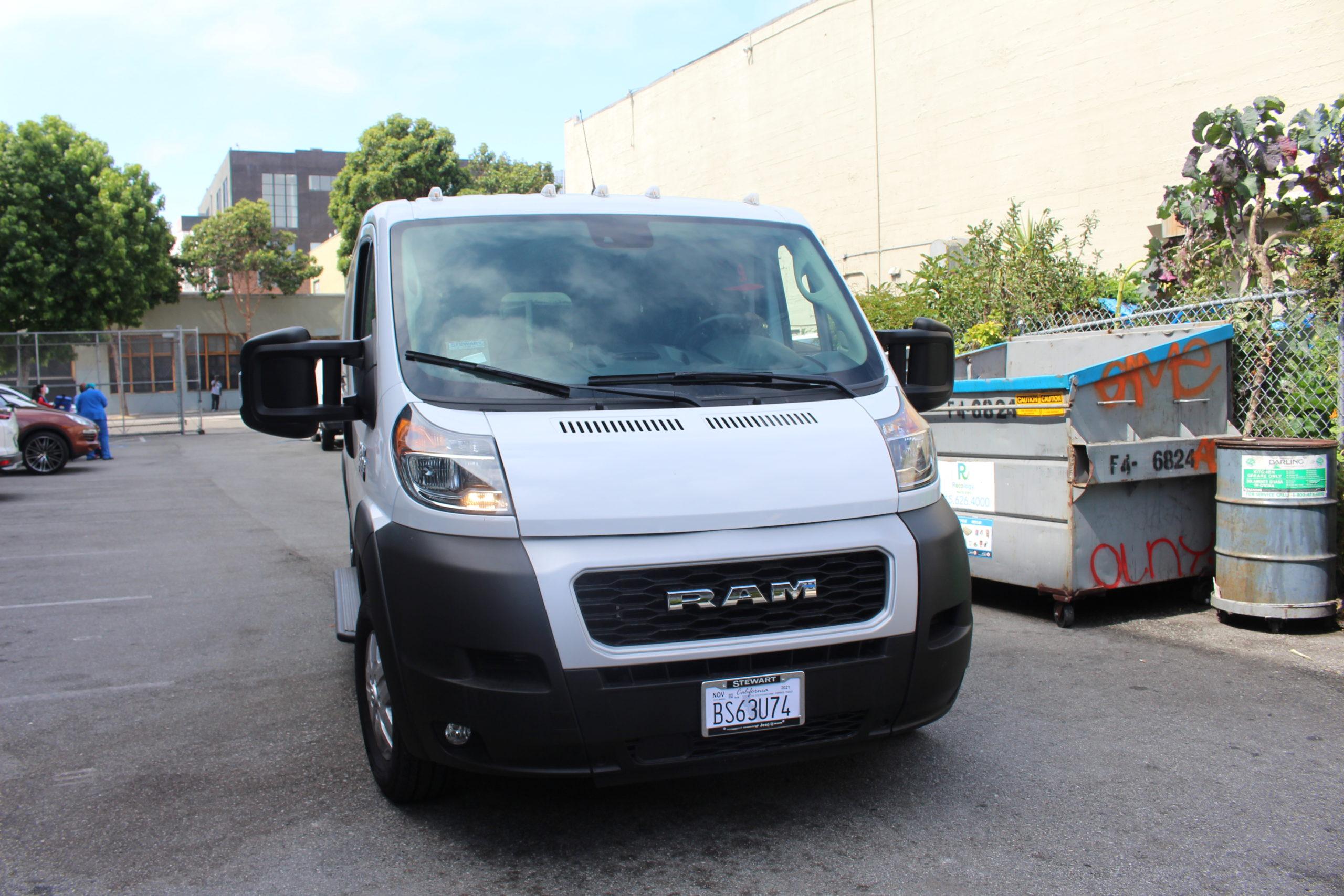 new ECS van